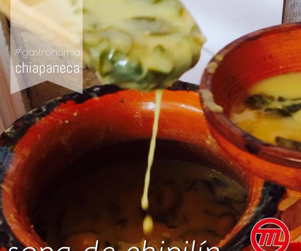 Sopa de Chipilin con Bolita